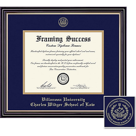 Villanova University 11\'\' x 14\'\' Prestige Diploma Frame | Villanova ...