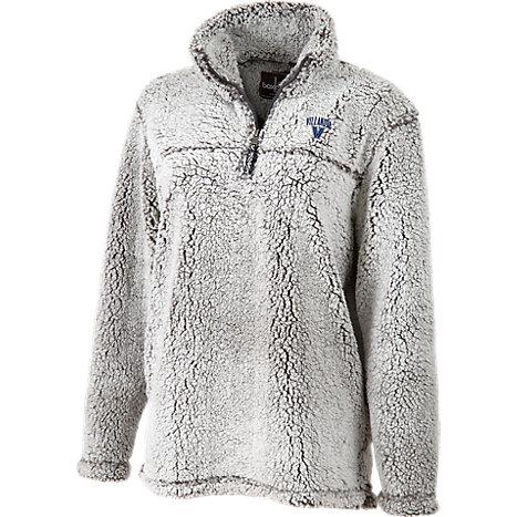 Villanova University Women's Slim Fit 1/4 Zip Sherpa Pullover ...