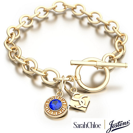 Jostens Smith College 2 Charm Bracelet