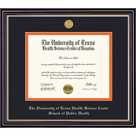 University of Texas Health Science Center 11\'\' x 14\'\' Prestige ...