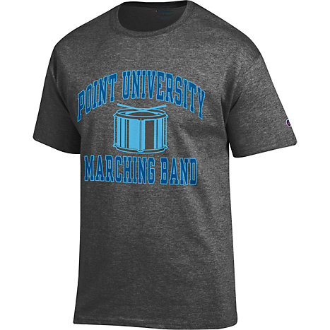 Point University Short Sleeve Marching Band T Shirt Point University