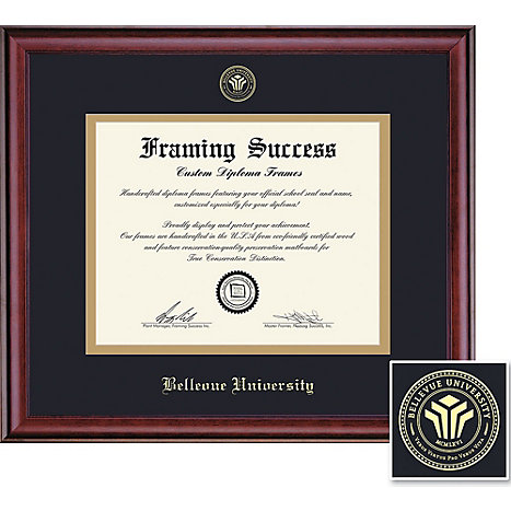Bellevue University 11\'\' x 14\'\' Classic Diploma Frame | Bellevue ...