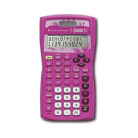 Texas Instruments Ti 30x Iis 2 Line Scientific Calculator Pink
