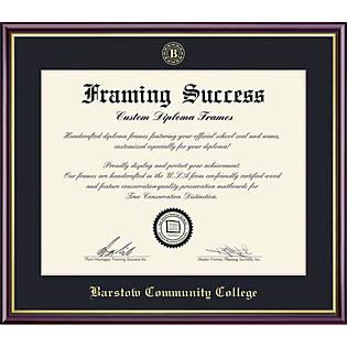 Barstow Community College 8 X 10 Value Price Academic Diploma Frame Barstow Community College