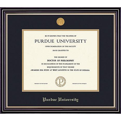Purdue University Northwest 7 X 9 Prestige Diploma Frame North