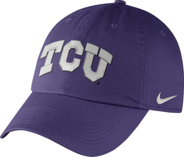 buy online 9937d a73d9 Texas Christian University Horned Frogs Heritage86 Dri-Fit Cap Texas  Christian University