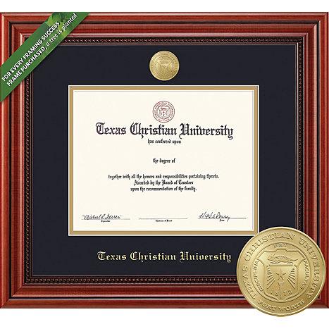 Texas Christian University Millenium Diploma Frame | Texas Christian ...