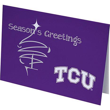 Texas christian university holiday greeting cards 10 pack texas jardine associates texas christian university holiday greeting cards 10 pack m4hsunfo
