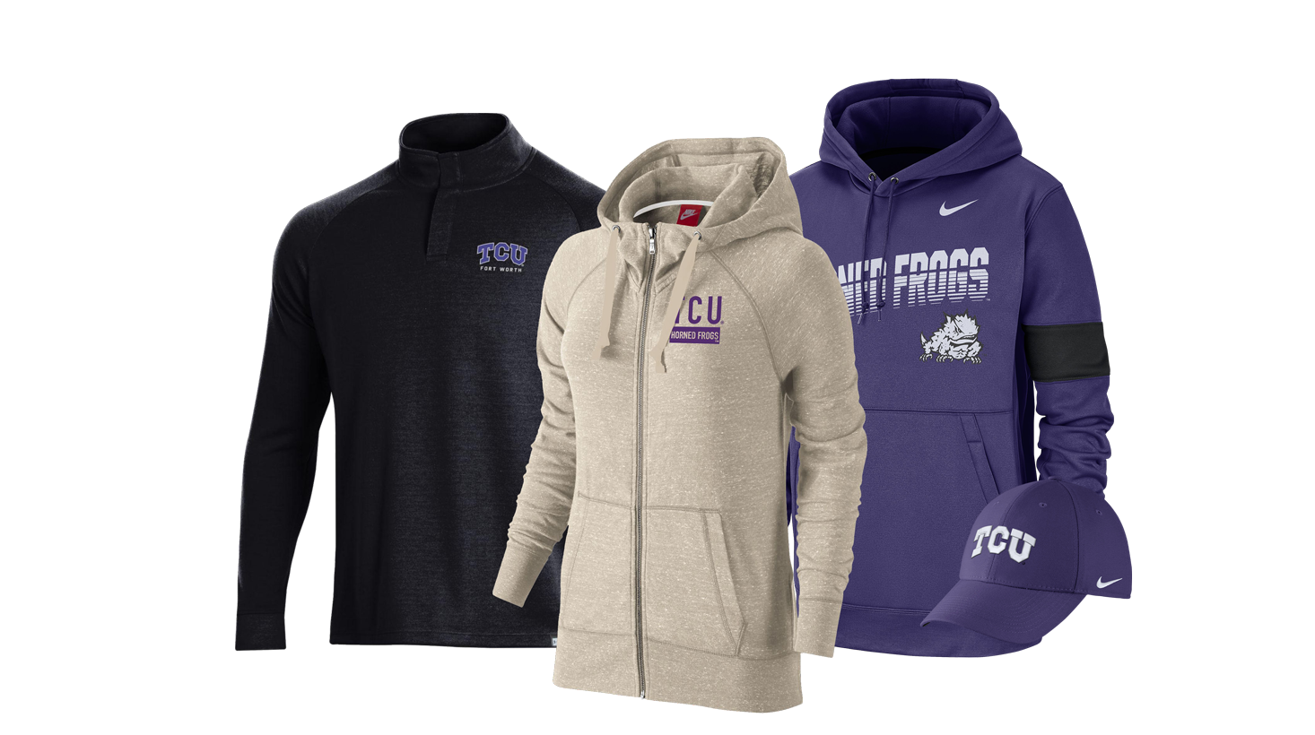 buy online 5ff3a 68c5c TCU Campus Store Apparel, Merchandise, & Gifts