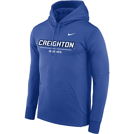 d8a56e33d5e2 Nike Creighton University Therma-Fit Pullover Hooded Sweatshirt