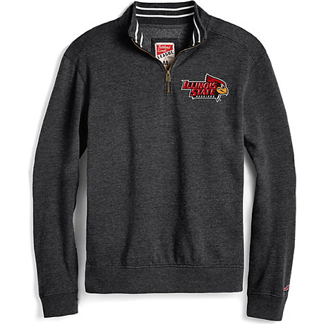 de3385380 League Illinois State University 1 4 Zip Tri-Blend Pullover