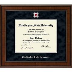 Wsu Diploma Frames Washington State Picture Frames