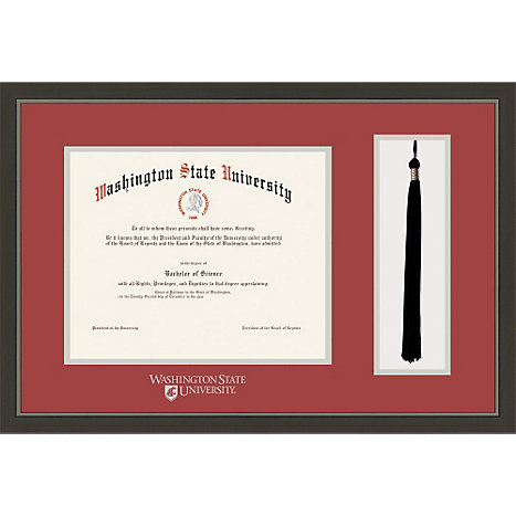 washington state university x metro diploma frame  framing success washington state university 11 x 14 metro diploma frame