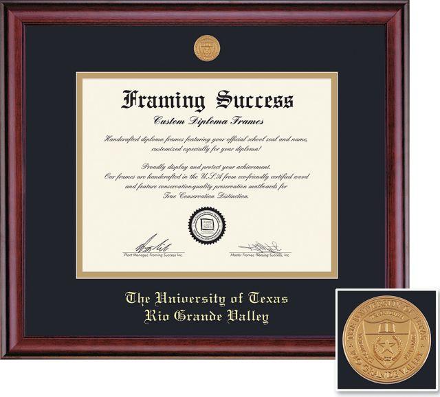 university of texas rio grande valley diploma frames - Diploma Frames