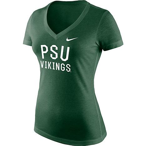 Product  Portland State University Women s Athletic Fit Tri-Blend Short  Sleeve T-Shirt ca1236d3df