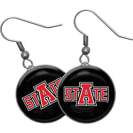 Product Arkansas State University Jonesboro Domed Earrings