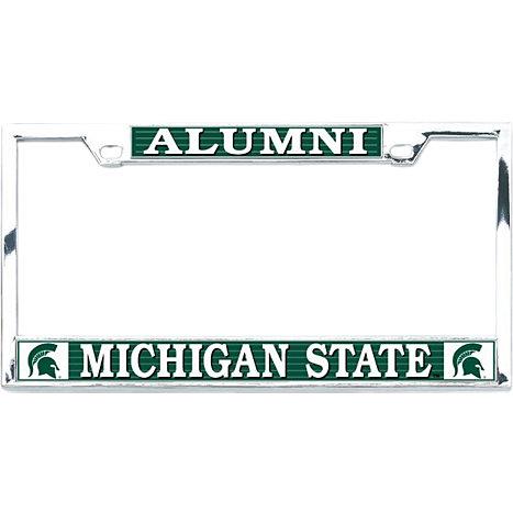 Michigan State University Alumni License Plate Frame   Michigan ...