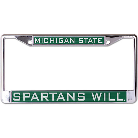Michigan State University Spartans Will Licence Plate Frame ...