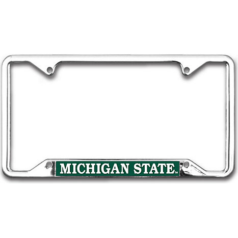 Michigan State University Simplicity License Plate Frame | Michigan ...