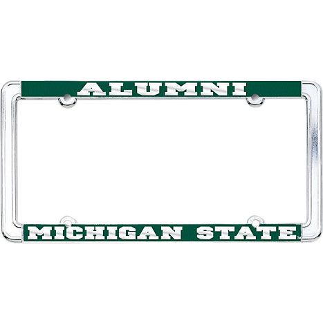 product michigan state university alumni license plate frame - Michigan State License Plate Frame