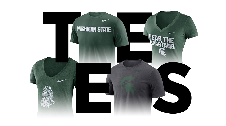 sale retailer 18869 5d9cb Michigan State Apparel | Spartan Gear, Merchandise & Gifts