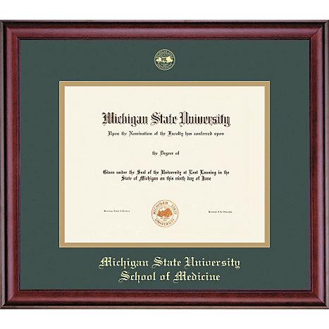 framing success michigan state university 11 x 14 diploma frame - Michigan State Diploma Frame