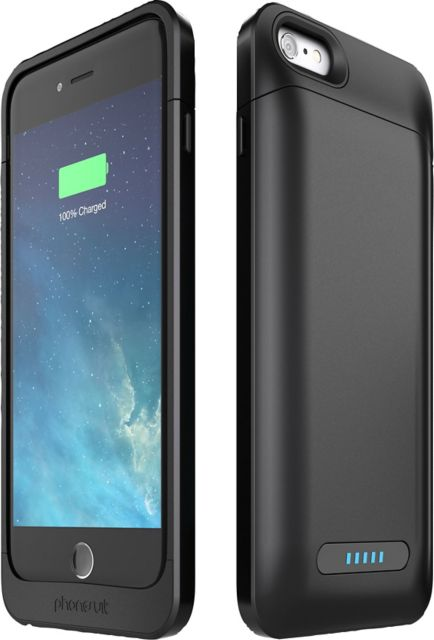 the best attitude e49bd f6965 PhoneSuit Elite PRO Battery Case for iPhone 6 Plus /6S Plus Black - ONLINE  ONLY