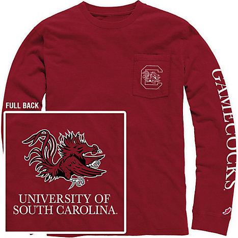 University Of South Carolina Vintage Washed Long Sleeve
