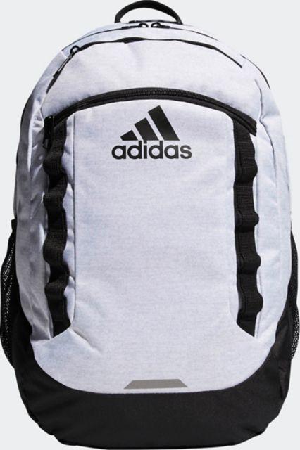 adidas Excel V Backpack - Jersey White/ Black