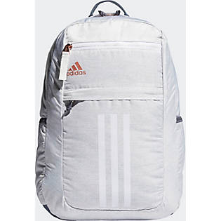adidas League 3 Stripe Backpack - Jersey White/ Rose Gold ...