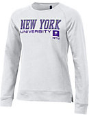 77c984ca282c New York University Women s Relaxed Fit Crew Neck Sweater
