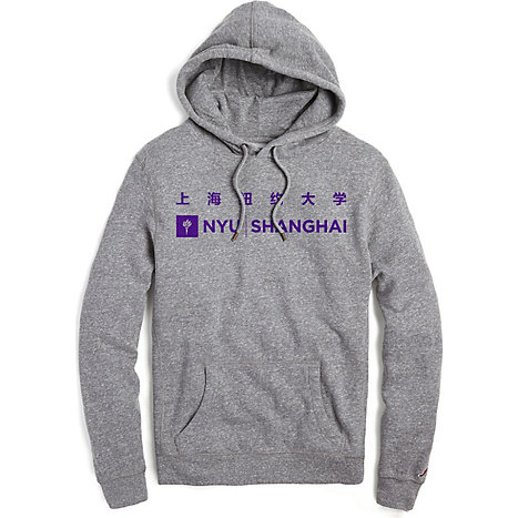 17507d8face7 League New York University Shanghai Hooded Sweater