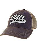 New York University Trucker Patch Cap. Legacy Apparel c062912e2b8d