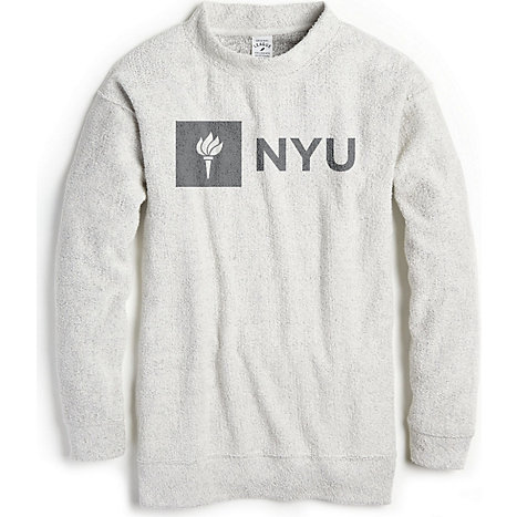 9eb4d5c2b031 League New York University Women s Slim Fit Crew Neck Sweatshirt