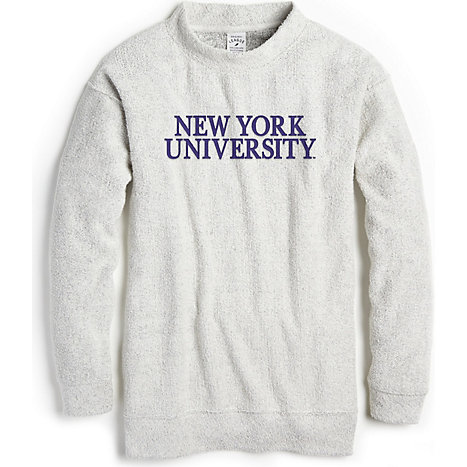 71e12ebbabb8 League New York University Women s Ezra s Best Crew Neck Sweatshirt