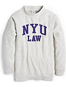 d7fd307dea19 New York University Women s Crew Neck Sweatshirt. League