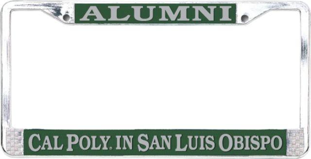 Cal Poly Alumni License Plate Frame Cal Poly
