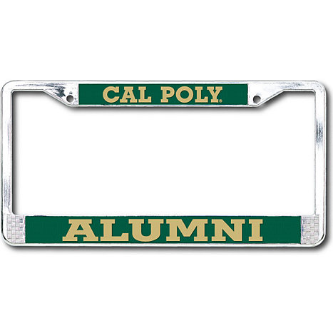 Cal Poly Pomona Alumni License Plate Frame Damnxgood Com