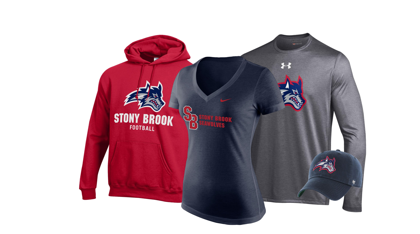 new style ce8cb cbb5e Stony Brook University Shop Red West Apparel, Merchandise ...