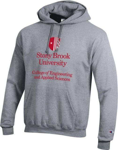 School Spirit Sweatshirt Stony Brook University Girls Pullover Hoodie  Heather Clothing Active Sweatshirts