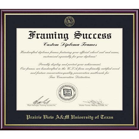 Prairie View A & M University 8.5x11 Value Price Diploma Frame ...