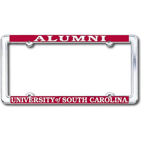 University of South Carolina Alumni Chrome License Plate Frame ...