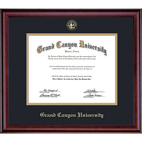 grand canyon university 11x14 diploma frame grand canyon university. Black Bedroom Furniture Sets. Home Design Ideas