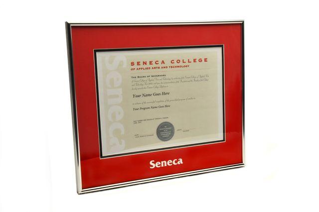 Seneca College 14 5 X 17 Diploma Frame Seneca College