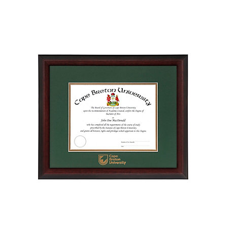 Cape Breton University Linear Diploma Frame | Cape Breton University