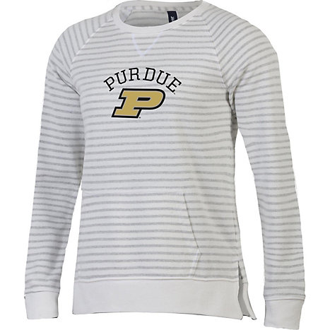 69efcef2311a Gear for Sports Purdue University Women s Relaxed Fit Crew Neck Sweater