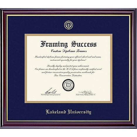 Lakeland University 7 X 9 Diploma Frame Lakeland University