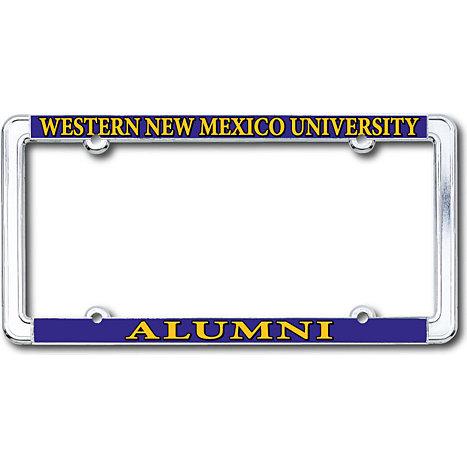 Western New Mexico University Alumni Thin Rim License Plate Frame ...