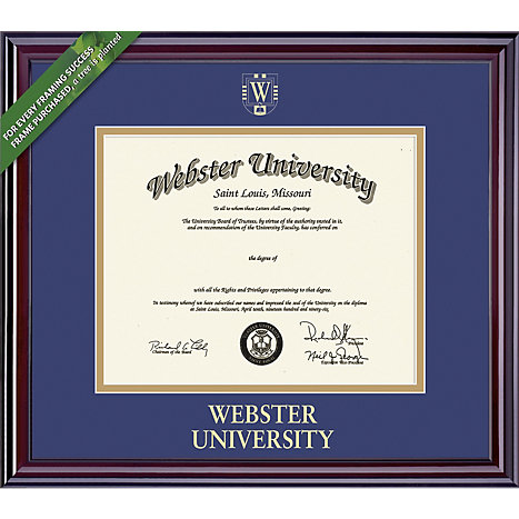 Webster University 11x14 Elite Diploma Frame | Webster University