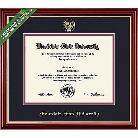 Montclair State University 8\'\' x 10\'\' Regal Diploma Frame ...
